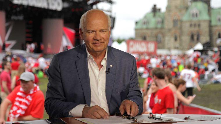 Peter Mansbridge | Chief Correspondent for CBC News and Anchor of The National for 29 Years